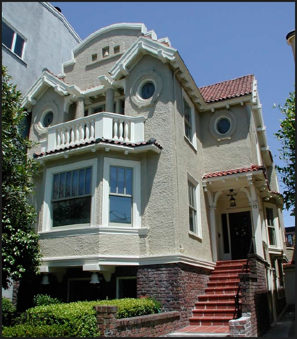San francisco victorian edwardian architecture jane for Mission homes