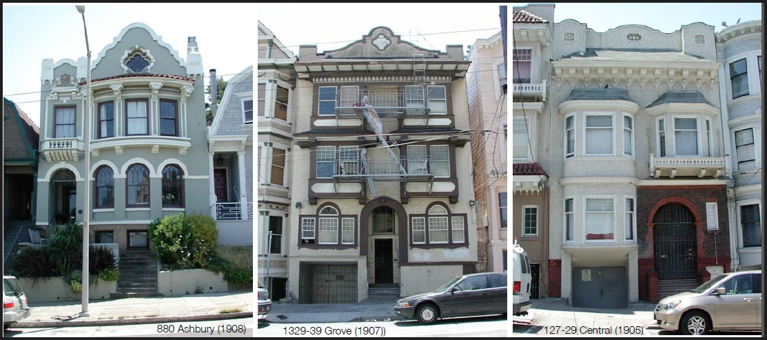 San Francisco Victorian Edwardian Architecture Jane